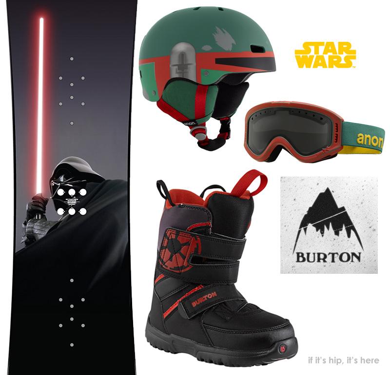 Burton Star Wars Snowboarding Collection