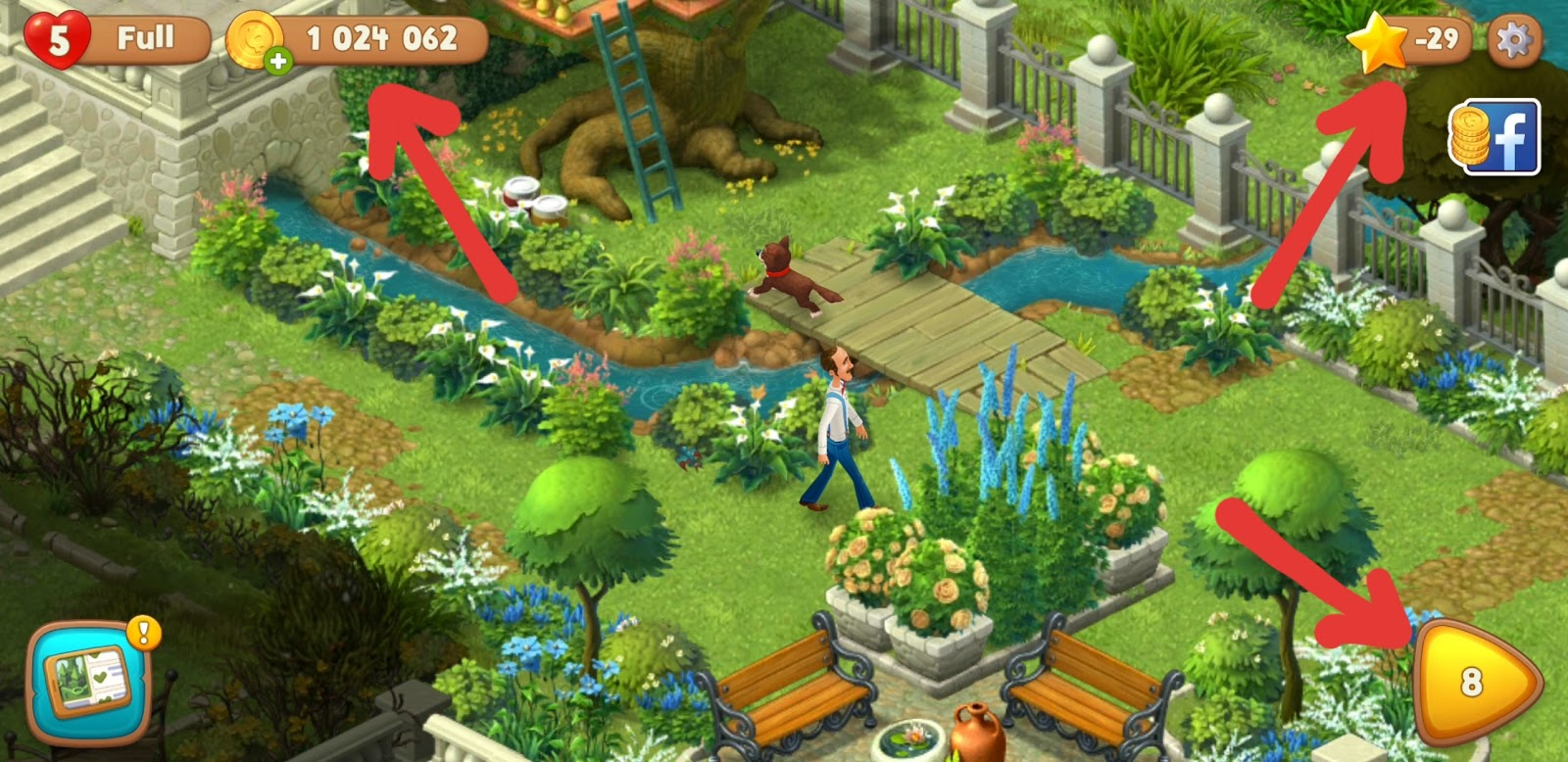 gardenscapes mod apk unlimited money and stars