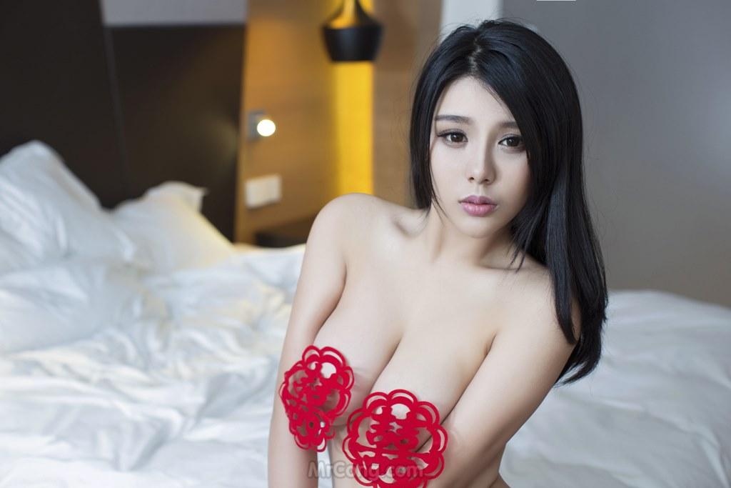 Image MrCong.com-UGIRLS-T009-nguoi-mau-trung-quoc-khoa-than-013 in post Ba người đẹp Trung Quốc khoe thân táo bạo trong bộ ảnh UGIRLS T009