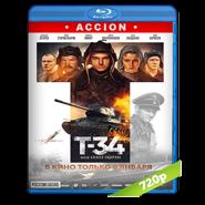 T-34 (2018) BRRip 720p Audio Dual Latino – Ruso