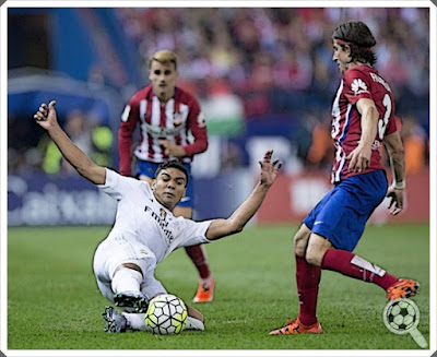 Casemiro Filipe Luis Real Madrid Atlético
