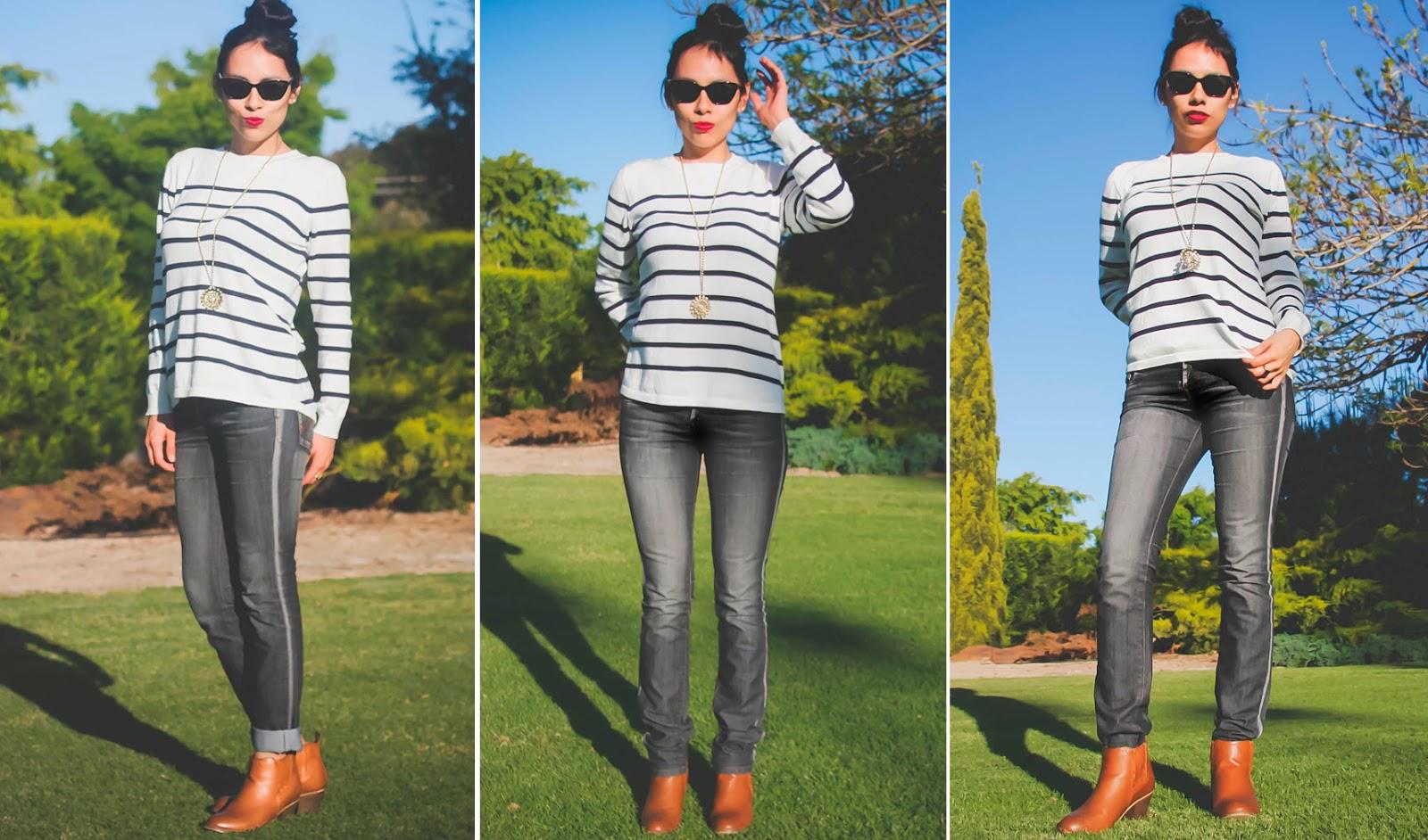 Combinar botines con jean