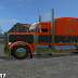 Orange and black peterbilt 388 custom v1.0 for LS 17