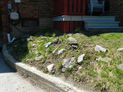 Forest Hill Toronto new rock garden before by Paul Jung Gardening Services Inc
