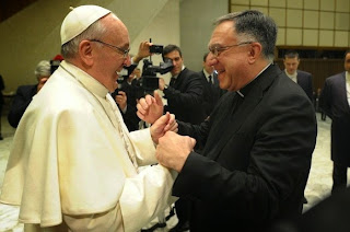 Pope Francis and Fr Rosica