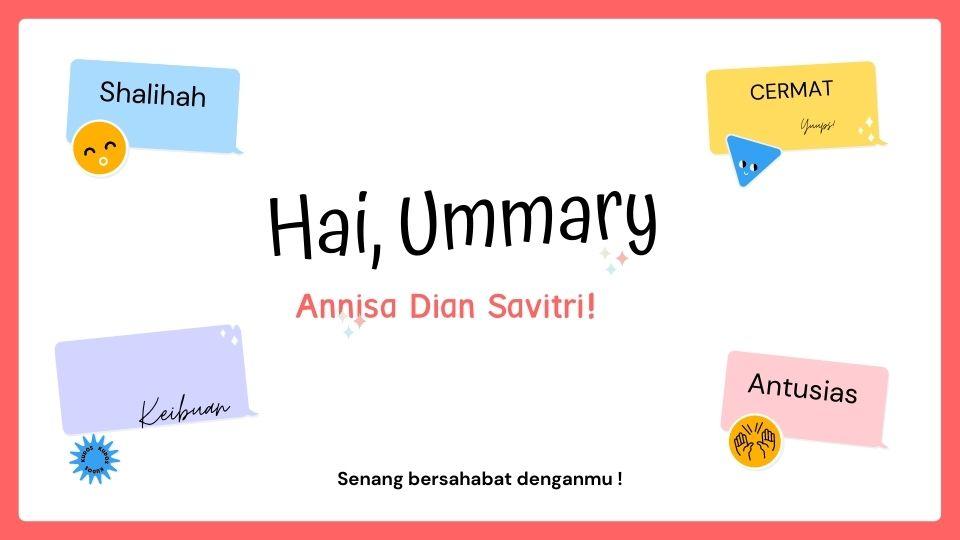 Mengenal Ummary