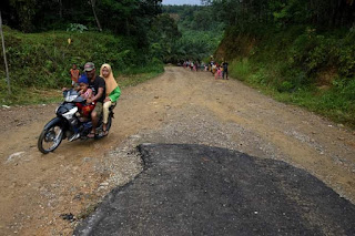 Gubernur Sumut Edy Rahmayadi Targetkan Jalan Trans Palas-Madina Rampung Tahun 2022