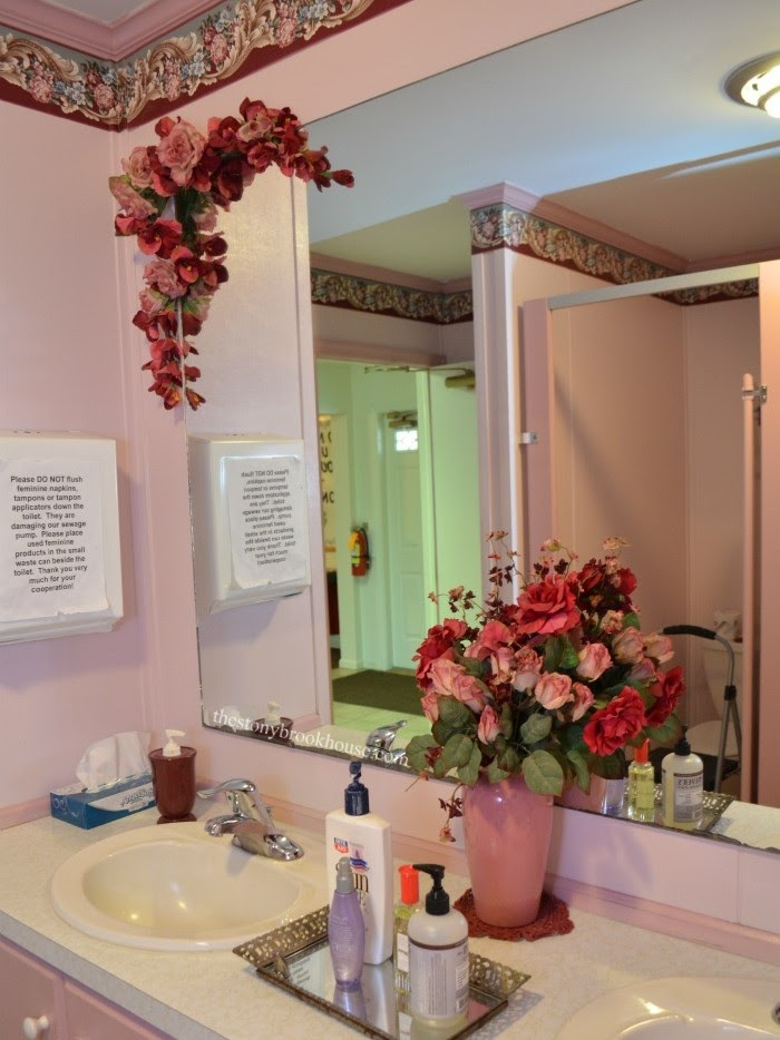 Pink Church Bathroom