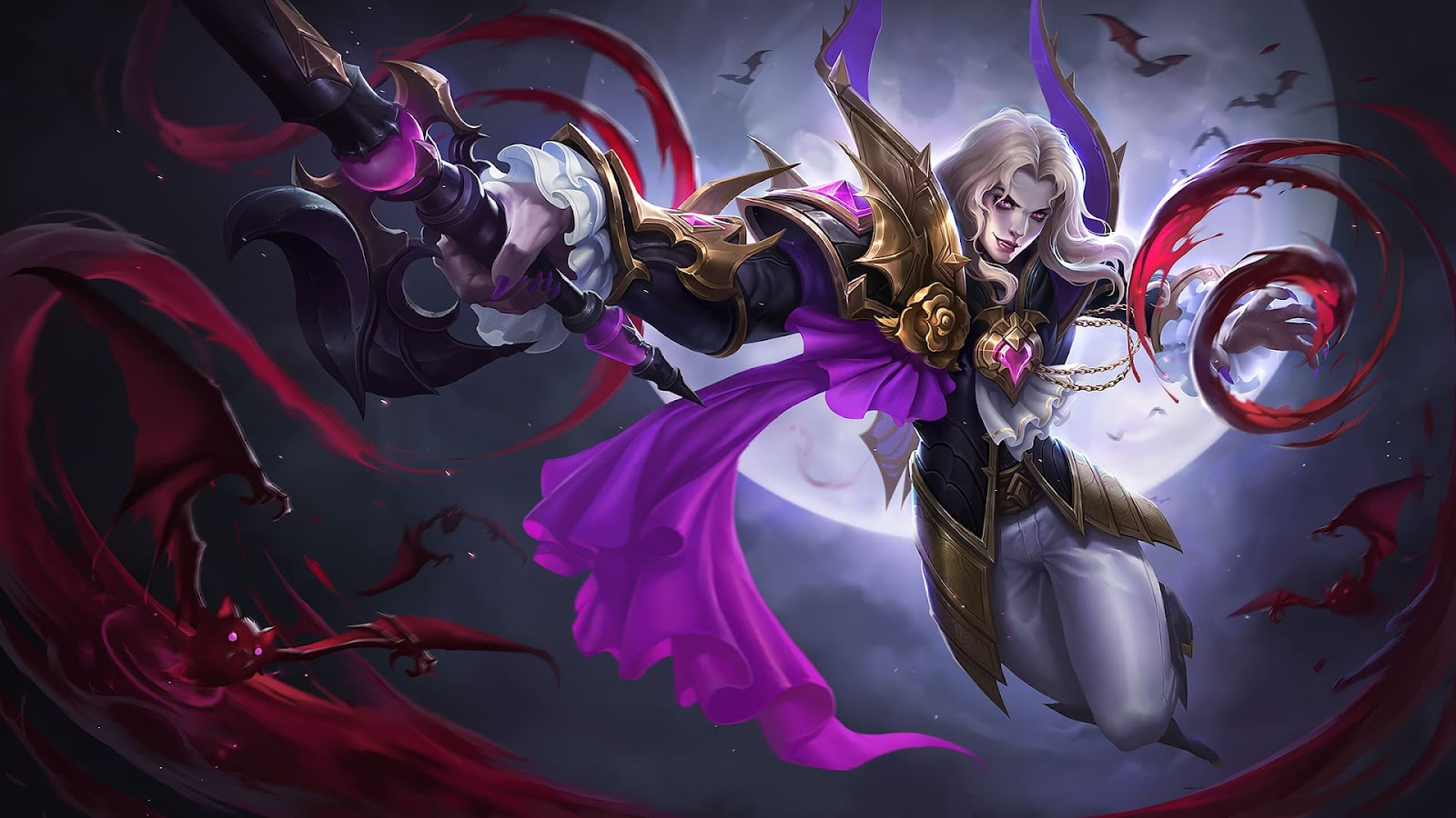 Wallpaper Lancelot Dark Earl Skin Mobile Legends HD for PC