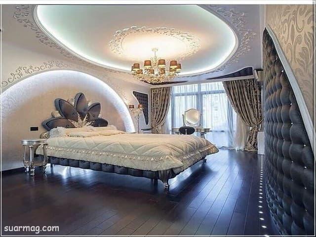 اسقف جبس بورد حديثة غرف نوم 6   Bedrooms Modern Gypsum Ceiling 6