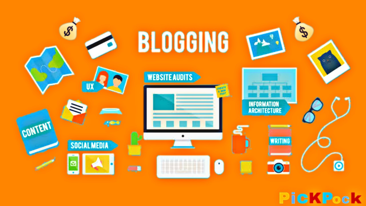 Blogging, PickPock, what is Blogging