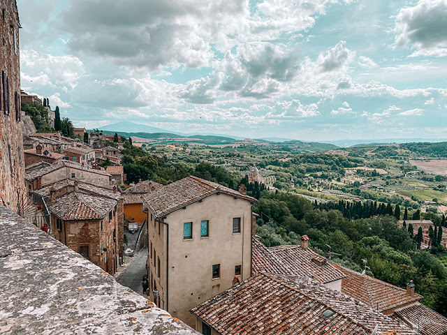 Val d'Orcia: montepulciano