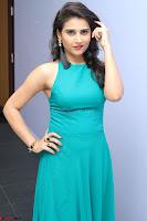 Priya Singh in a sleeveless Green Gown at Manasainodu music launch 011.08.2017 ~ Exclusive Celebrity Galleries 031.JPG
