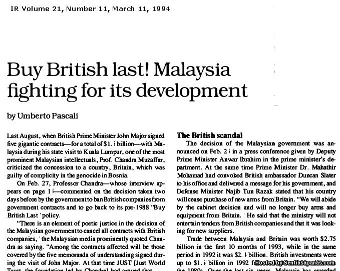 Operasi Serangan Subuh 'Dawn Raid 1981' Tun Mahathir Yang Menggemparkan Bursa Saham London