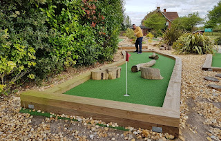 Crazy Putting Challenge at Hamptworth Golf Club