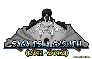 One Piece - Saga Isla Gyojin