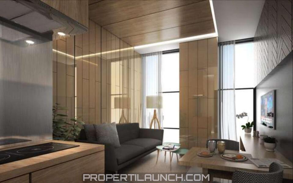 Interior Design 2 BR Apartemen Monroe Jababeka