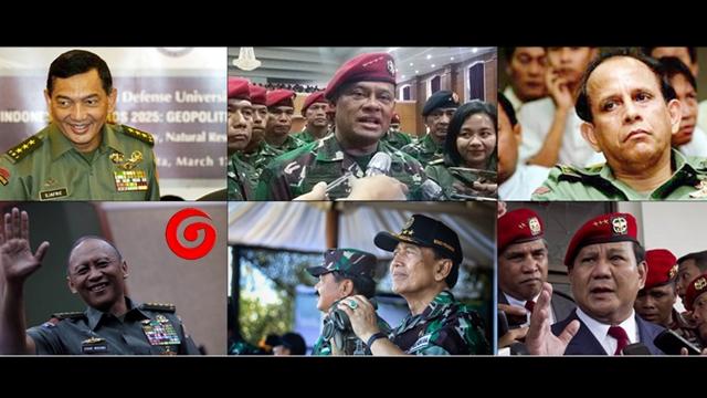 6 Jenderal TNI yang Pernah Dilarang Masuk AS, Termasuk Prabowo dan Gatot Nurmantyo