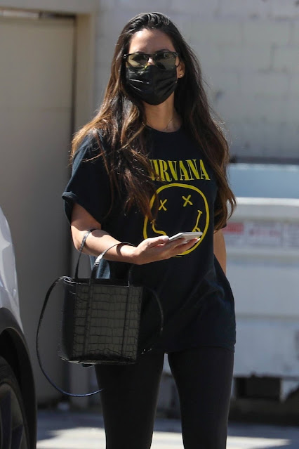 Olivia Munn – Seen leaving a West Hollywood gym