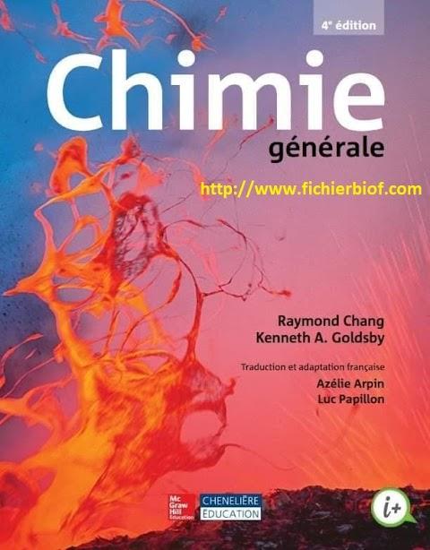 Chimie générale 4éme édition