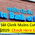 SBI Clerk Mains Cut-Off 2019: Check Here State-Wise