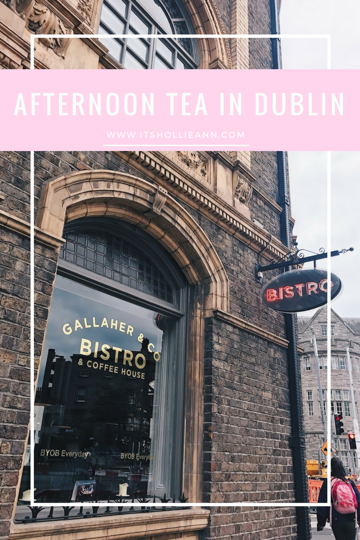 Afternoon Tea in Dublin: Gallaher & Co