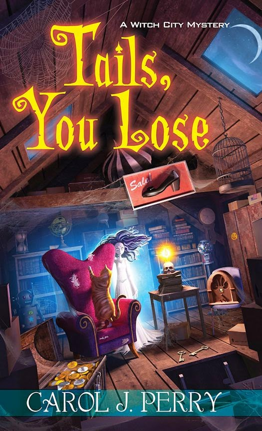 Review: Tails, You Lose by Carol J. Perry