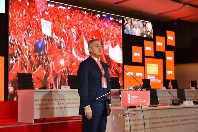 Milo Đukanović ponovo izabran za predsjednika DPS-a