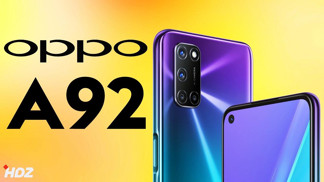 سعر ومواصفات Oppo A92 في الجزائر