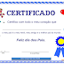 Certificação do Dia dos Pais
