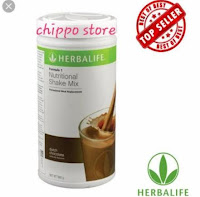 Herbalife F1 Nutritional Shake Mix chocolate - for weight loss or weight gain