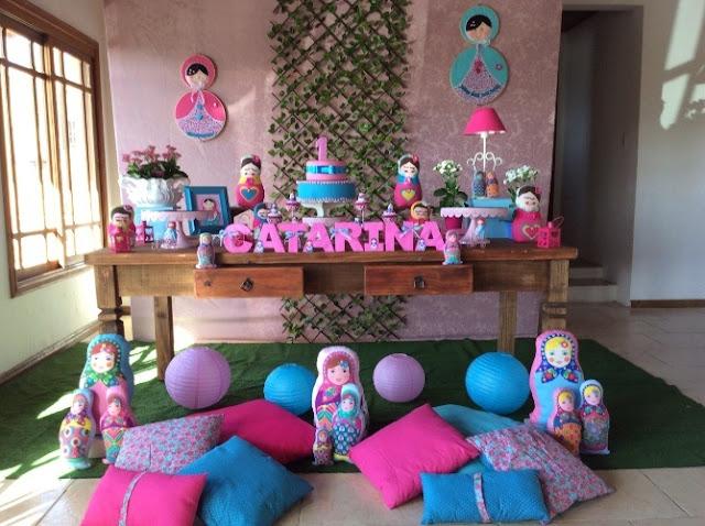 Festa-de-aniversario-infantil-com-o-tema-de-boneca-matrioska1