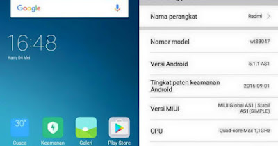 MIUI 8 Global AS1 Based MIUI Global V8.1.3.0 Andromax A