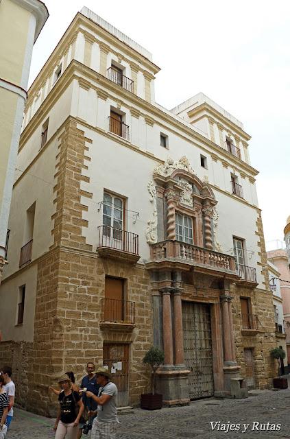Casa del almirante, Cádiz