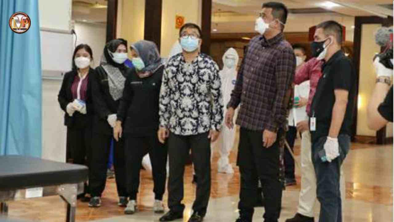 Wali Kota Medan Utamakan OTG Untuk Jalani Isolasi di Isolasi Terpusat Eks Hotel Soechi