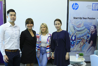 Start up your Passion with HP Pavilion x360