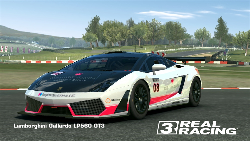 Real Racing 3 Android Download Poster