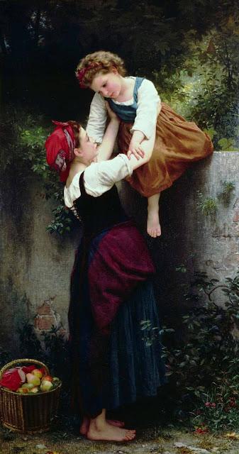 Адольф Вильям Бугро - Маленькие воришки (1872)