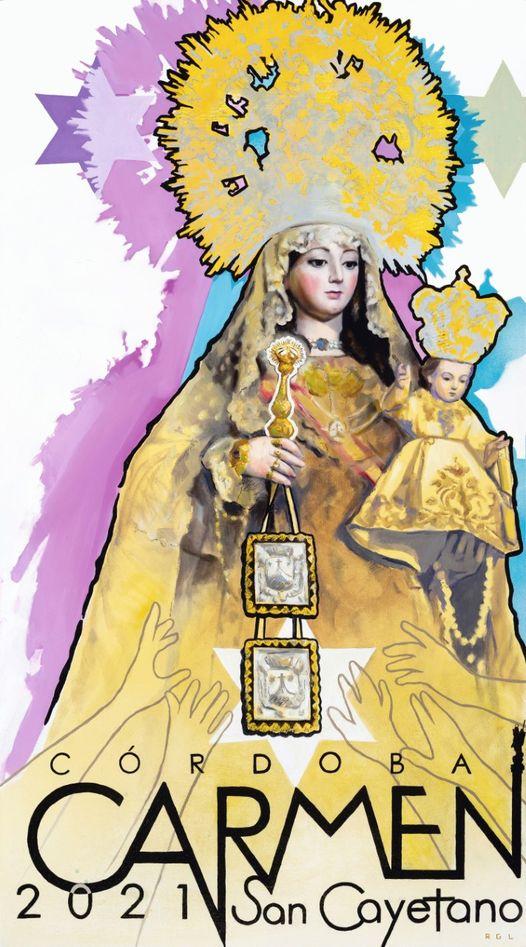 Cartel de la Carmen de San Cayetano 2021 de Córdoba
