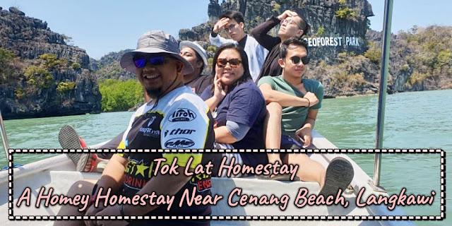 Tok Lat Homestay, Homestay murah di Langkawi, Ezeego, Homestay dekat Pantai Cenang, Rawlins Travels, Rawlins GLAM, Trip Boba Hunter Gang, Kau Pondan