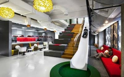 Jenis Tata Ruang Kantor Gabungan (mixed office)