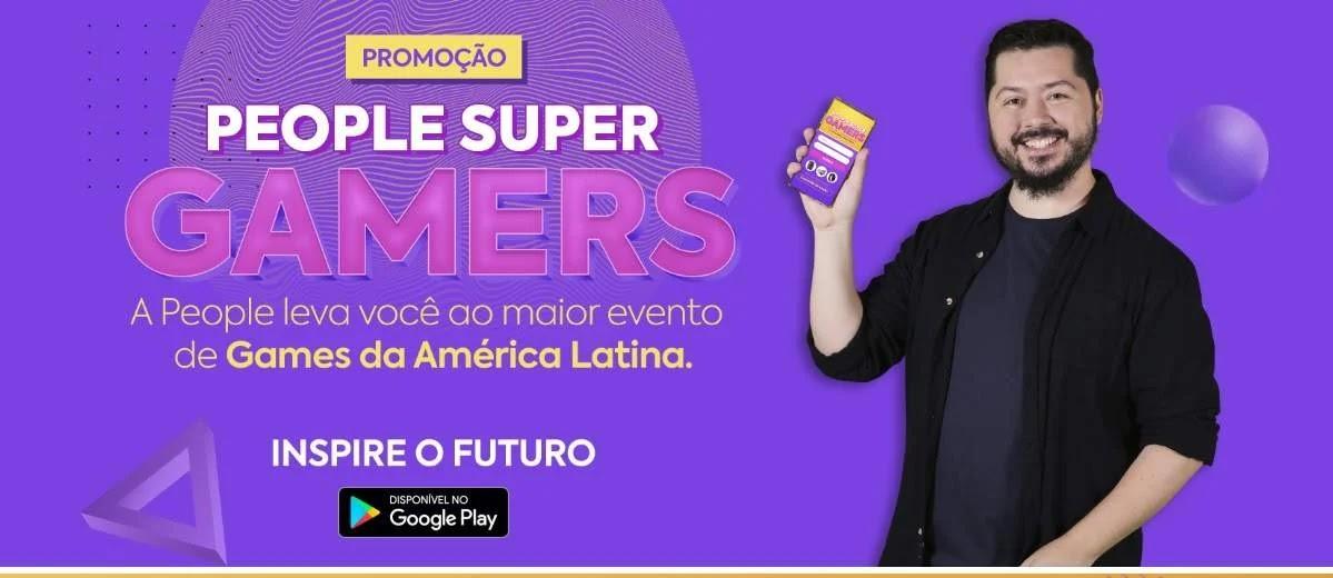 Promoção People Cursos 2020 Super Gamers
