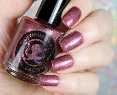 Octopus Party Nail Lacquer Cranberry Boss | Winter 2017