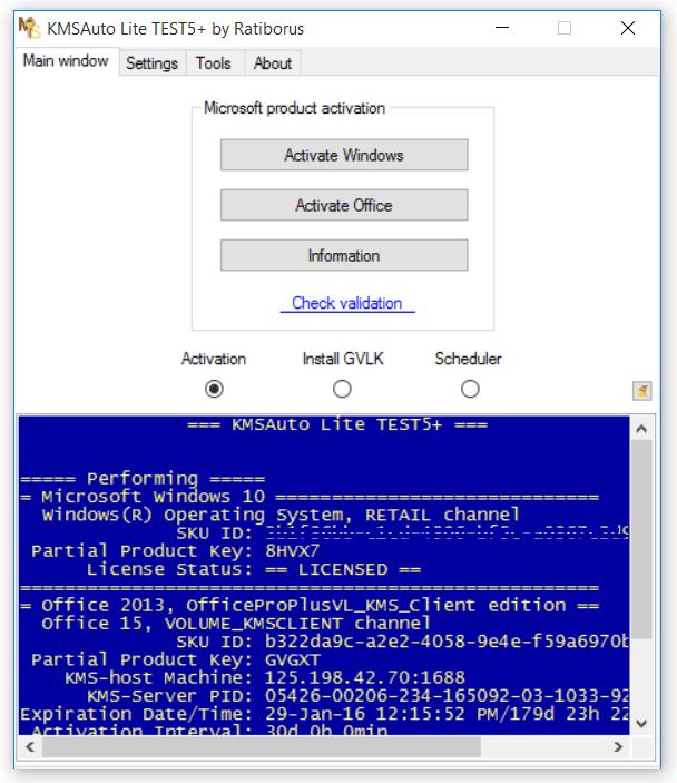 Validating windows 7 crack