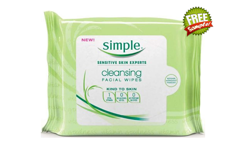 FREE Simple Cleansing Facial Wipes Sample, FREE Sample of Simple Cleansing Facial Wipes, Simple Cleansing Facial Wipes FREE Sample, Simple Cleansing Facial Wipes