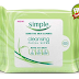 FREE Simple Cleansing Facial Wipes Sample