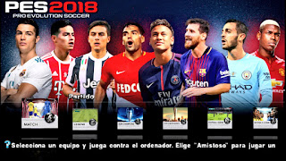 PES 2018 Android Offline 900 MB Best Graphics
