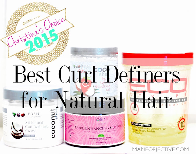 Christina's Choice 2015: Best Curl Definers for Natural Hair