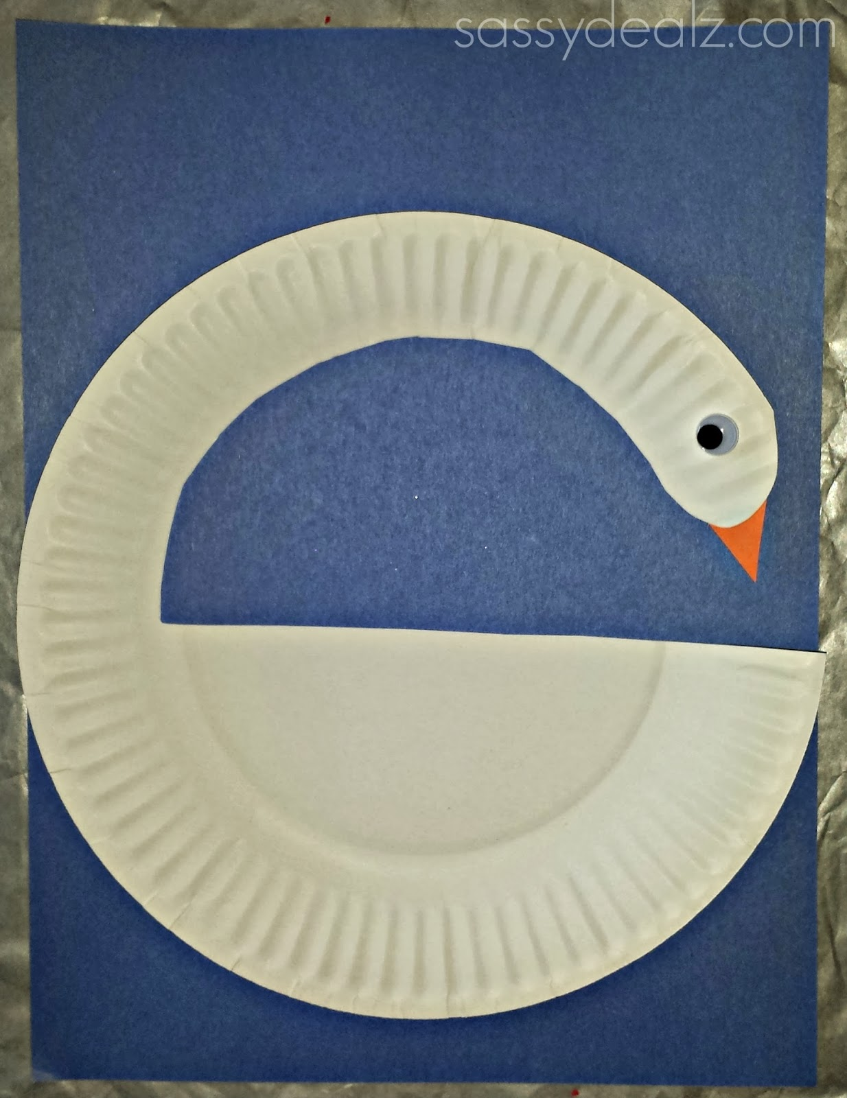 Diy Swan Paper Plate Craft For Kids Crafty Morning