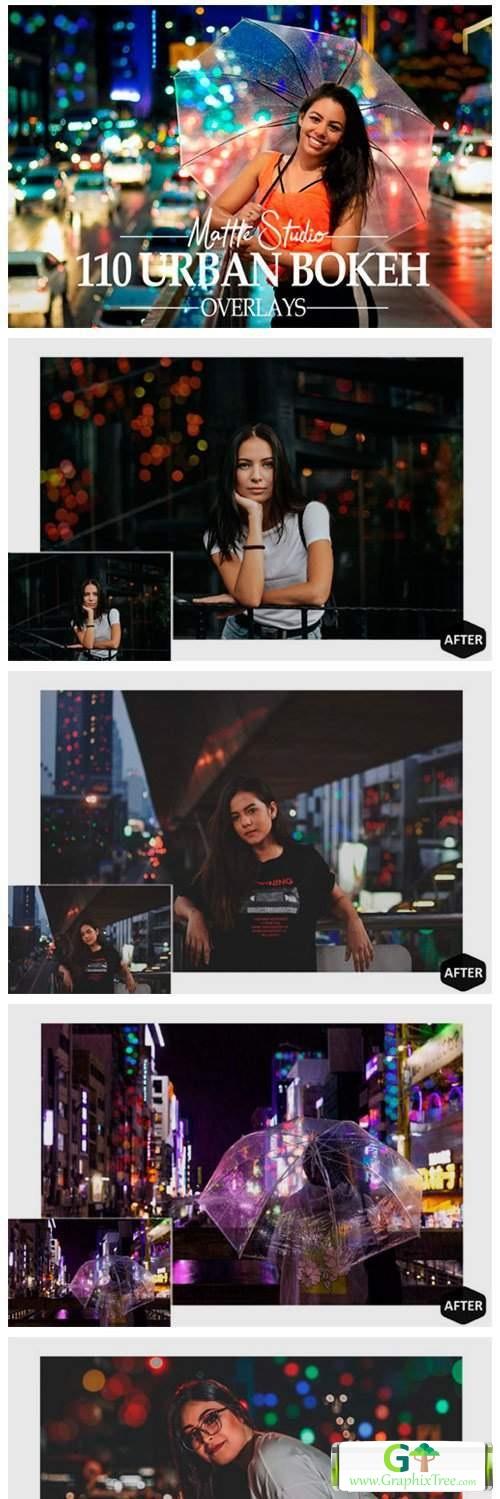 110 Urban Bokeh Overlays, Street Overlay [Stock Image] [Objects & Elements]